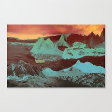 Greetings from a Strange Land Canvas Print