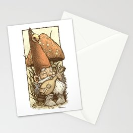 Gnome Minstrel Stationery Cards