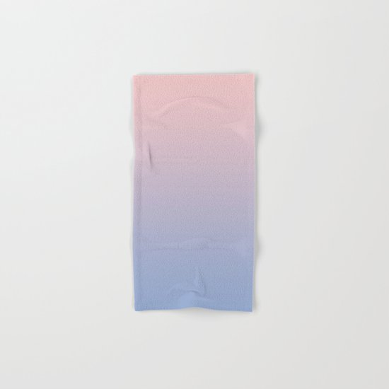 Rose Diamond / Quietude Gradient Colors Hand & Bath Towel