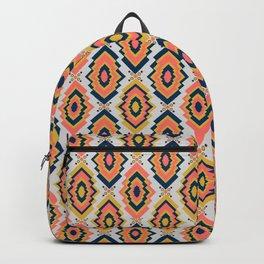 Coral boho Backpack