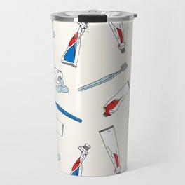 Toothpaste & Toothbrush Travel Mug