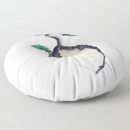 floating island Floor Pillow