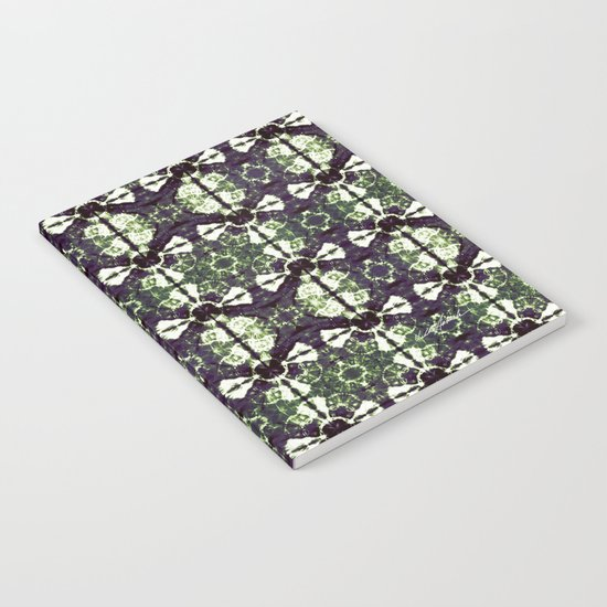 Eggplant Bloom Notebook