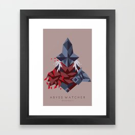 Abyss Watcher Framed Art Print