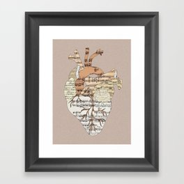 Sound Of My Heart Framed Art Print