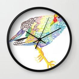 long legged Wall Clock