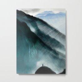 Mountain At My Gates Metal Print