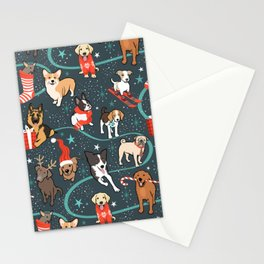 Holiday Dogs Stationery Cards