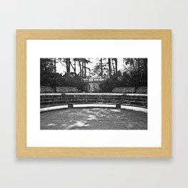 Greek Theatre Framed Art Print