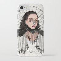 heavy metal iPhone & iPod Cases featuring Heavy Metal Venus by Helen Green
