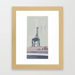 Crane Framed Art Print