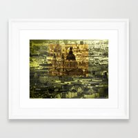 friday Framed Art Prints featuring Friday by monic