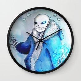 Sans Wall Clock