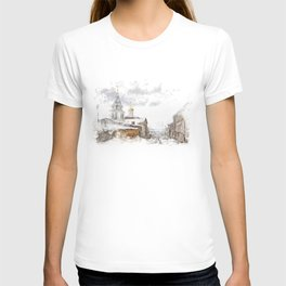Russian landscape T-shirt