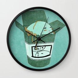 Pasta Pudding Wall Clock