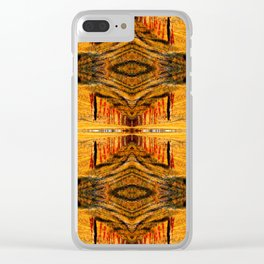 Fenced Into Infinity Clear iPhone Case