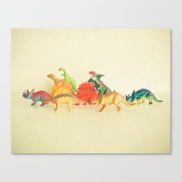 Walking With Dinosaurs Canvas Print