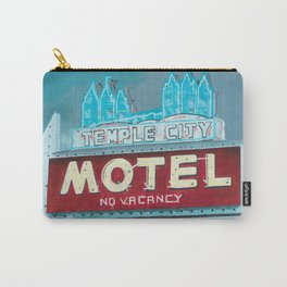 Temple City Motel Carry-All Pouch