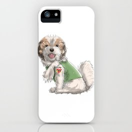 I Love Mom Tattoo Shih Tzu Funny Mother's Day Gift iPhone Case