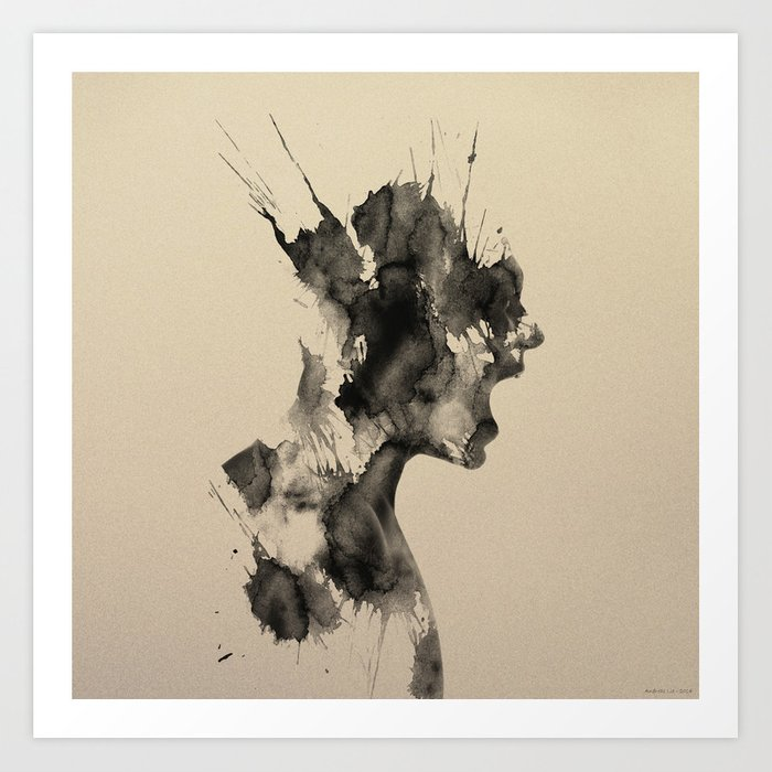 Discover the motif SCREAM #2 by Andreas Lie as a print at TOPPOSTER