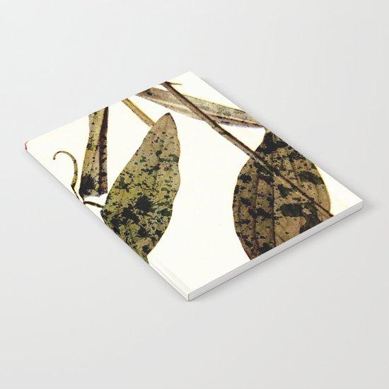 modern sweet peas Notebook