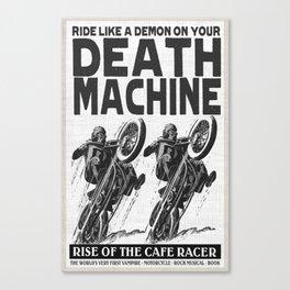 Death Machine Canvas Print