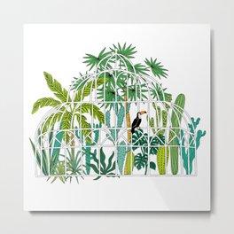 Royal greenhouse Metal Print