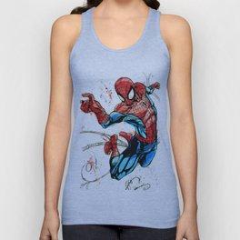 Web-Slinger Spider-Man Unisex Tank Top