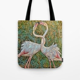 Chasoffart - Flam-Love Tote Bag