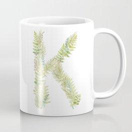 Initial K Coffee Mug