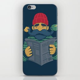 Oh Captain iPhone Skin