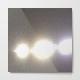 Abstracte Light Art in the Dark Version 31 Metal Print