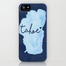 True Blue iPhone Case
