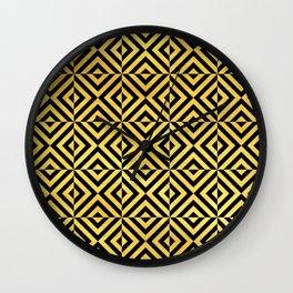 Amsterdam Art Deco/Art Nouveau Pattern Wall Clock