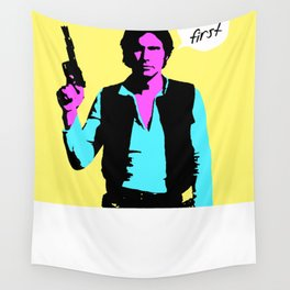 Han Solo: I Shot First Wall Tapestry