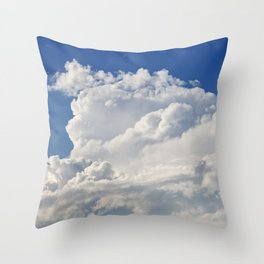 Stratocumulus Clouds 1 Throw Pillow
