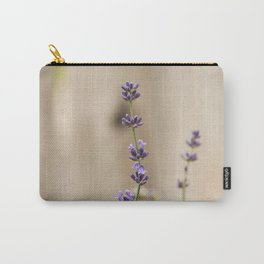 Lavender Buds and Blooms Carry-All Pouch