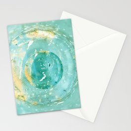 Blue Fantasy Planet Stationery Cards