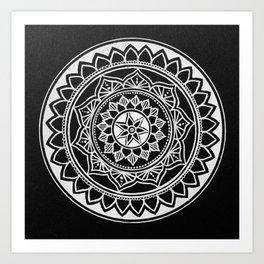 Floral Rings V Art Print