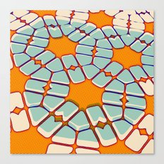 Retro texture Canvas Print