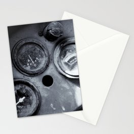 Vehicle Dials in Dust Stationery Cards