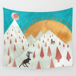 Wendigo Wall Tapestry