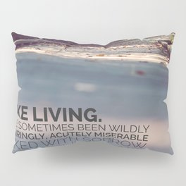 I like living - agatha christie Pillow Sham