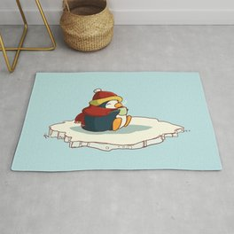 Happy penguin Rug