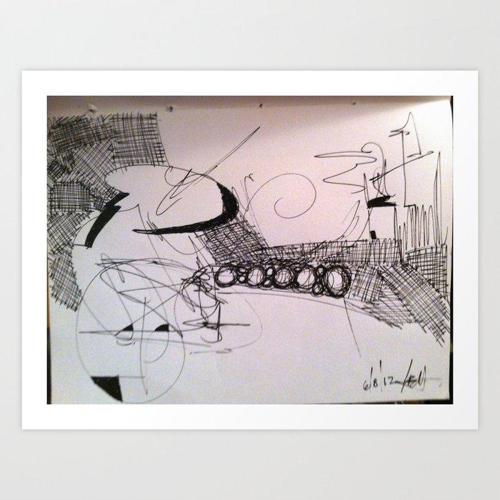 6/8/12 Art Print