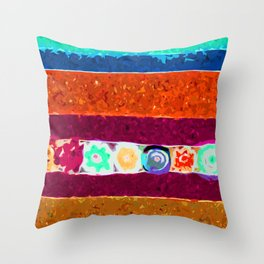 The Divisions  Throw Pillow