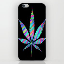 Weed : High Time Colorful Psychedelic iPhone Skin