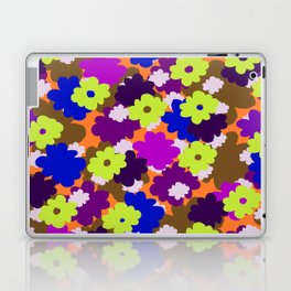 Fall Fun Flowers Laptop & iPad Skin