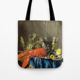 Cornelis De Heem - Still Life With Lobster Tote Bag