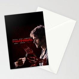 """Hannibal - Will Graham """"Adapt Evolve Become"""" Print Stationery Cards"""